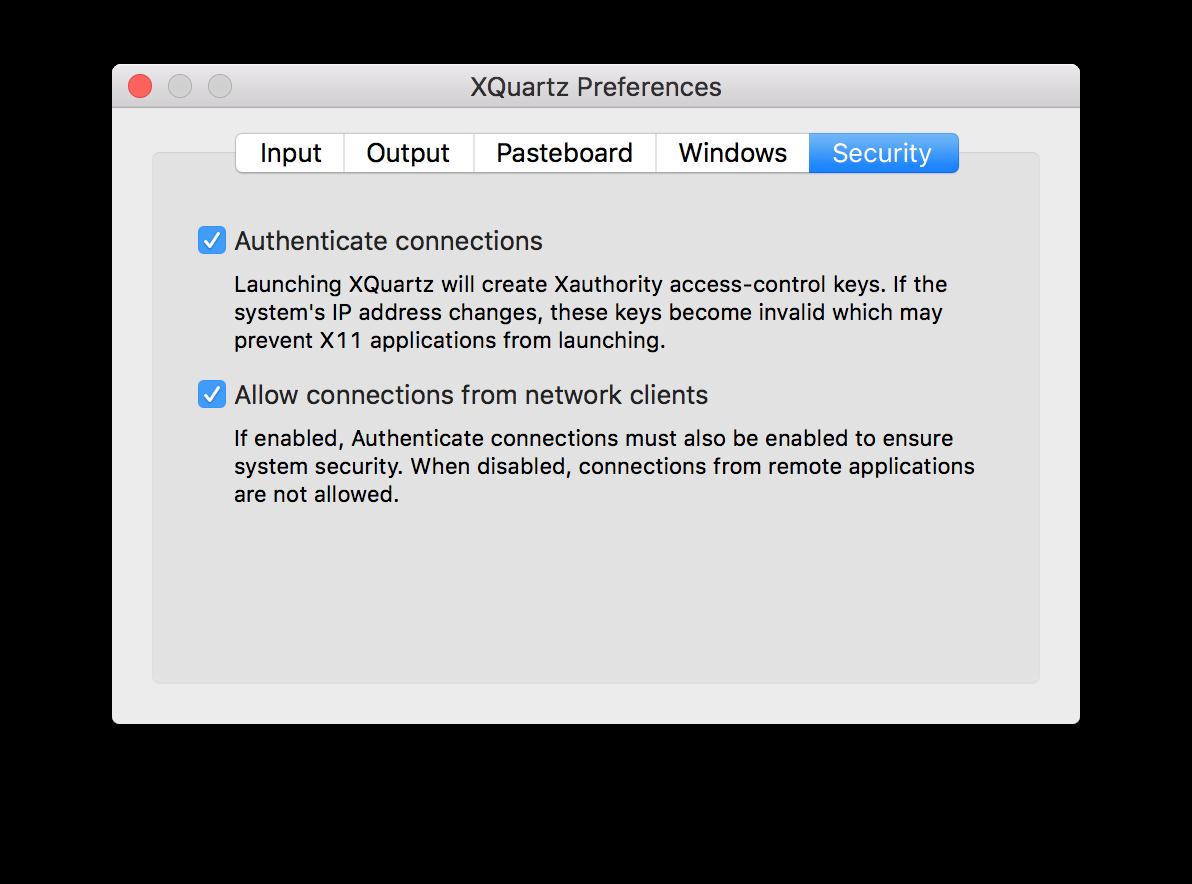 OSX: Use a GUI (X11) app in Docker   sysrun io